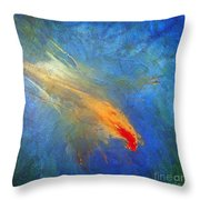 Enchanted Descent Throw Pillow