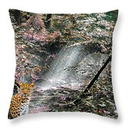 Enchanted Forest - Featured In Wildlife Group Throw Pillow
