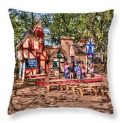 Enchanted Realm Throw Pillow