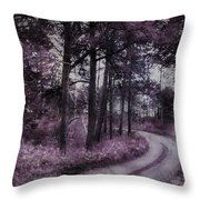 Enchanted Seney Path Throw Pillow