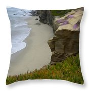 Enchanted Spaces California La Jolla Throw Pillow