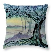 Enchanted Tree Throw Pillow