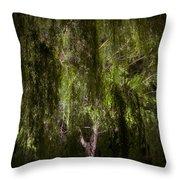 Enchanted Willow Throw Pillow