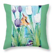 Enchanted With Divine Love Throw Pillow