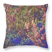Enchanted Wood II Throw Pillow