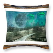 Enchanting Evening With Oz Throw Pillow
