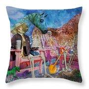 Enchanting Humor Throw Pillow