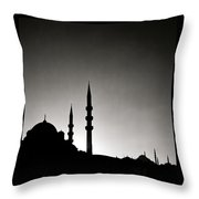 The Enchanting City Throw Pillow