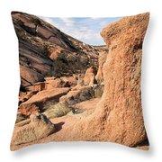 Enchanting Rocks Throw Pillow