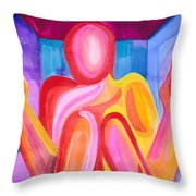 Enclosed Throw Pillow