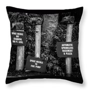 Encore Pipe Trio Throw Pillow