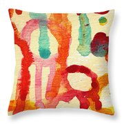 Encounters 5 Throw Pillow
