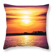 Encroachment Throw Pillow