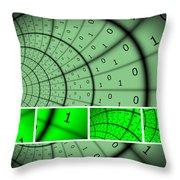 Encryption Throw Pillow
