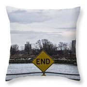 End Throw Pillow