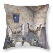 End Of A Long Day Throw Pillow