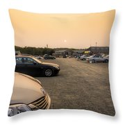 End Of A Summer Day Throw Pillow