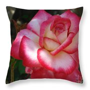 End Of June Bloom Throw Pillow