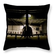 End Of The Shift Throw Pillow