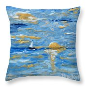 End Of The Storm Throw Pillow