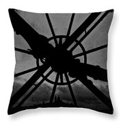 End Of Time Throw Pillow