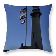 End Of Watch Throw Pillow