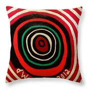 End Of World Throw Pillow