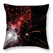 End With A Bang Throw Pillow