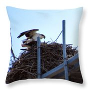 Endangered Lives On Throw Pillow