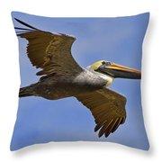 Endangered No More Throw Pillow