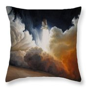 Endeavour Throw Pillow