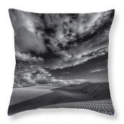 Endless Black And White Throw Pillow