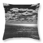 Endless Clouds II Throw Pillow