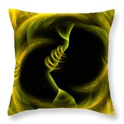 Endless Compromises - Abstract Art By Giada Rossi Throw Pillow