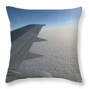 Endless Cotton Cloud Under The Wing Throw Pillow