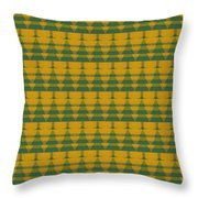 Endless Forest Throw Pillow