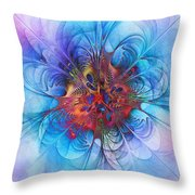 Endless Waltz Throw Pillow