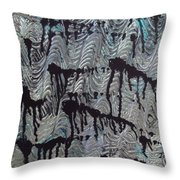Endless Waters Throw Pillow