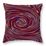 Energy Euphoria Wave Art Suitable For Large Format Prints Digital Graphic Signature   Art  Navinjosh Throw Pillow