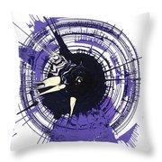 Energy II Throw Pillow