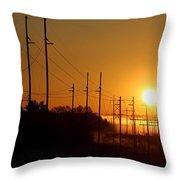 Energy Throw Pillow