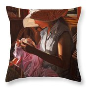 Enfamil At Ha Long Bay Vietnam Throw Pillow