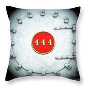 Engine 444 Throw Pillow