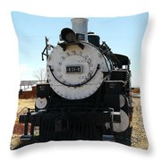 Engine 494  Throw Pillow by Jeff Swan