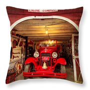 Engine Company 33 Throw Pillow