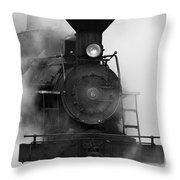 Engine No. 6 Throw Pillow