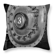 Engine Number 3 Throw Pillow