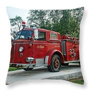 Engine Number One Throw Pillow