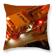Engine Three  Throw Pillow