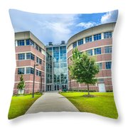 Engineering Building 3 Throw Pillow
